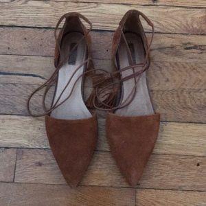 Topshop Lace Up Shoes
